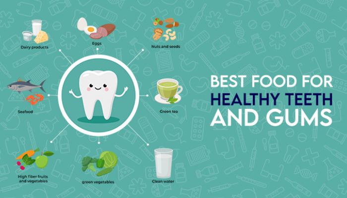 Best foods for healthy teeth and gums